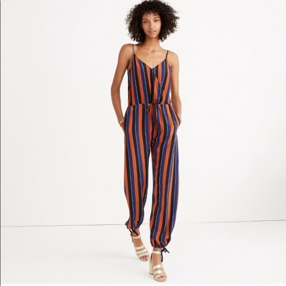 08c07b96bed Madewell Pants - Madewell No. 6 Jumpsuit in multi stripe